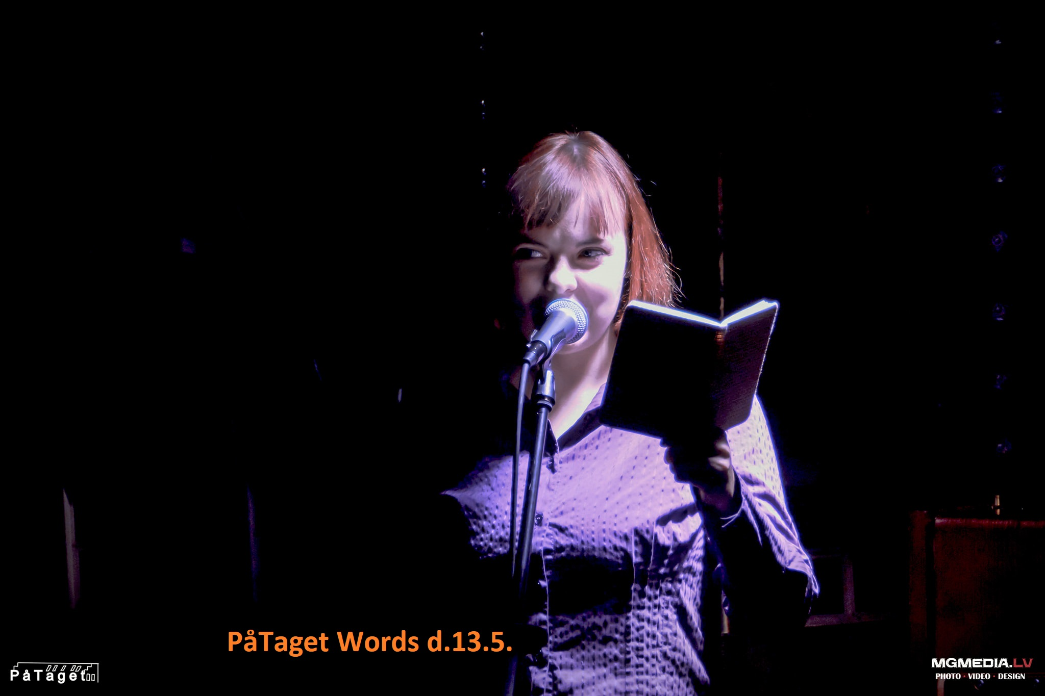 PåTaget Words Open mic #4